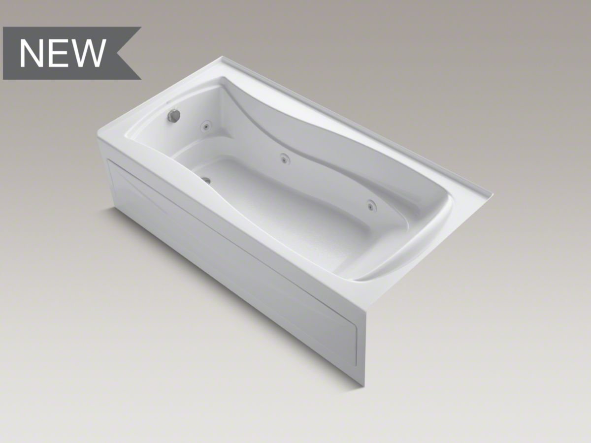 KOHLER Whirlpool bathtub, Massage tubs – White | High Quality ...